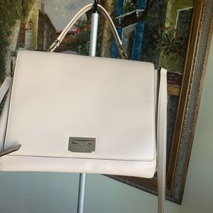Kate Spade white leather bag Crossbody